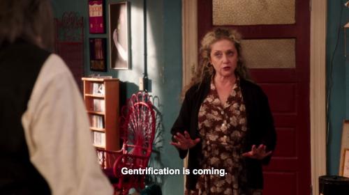 Lillian teme la gentrificación más que al invierno