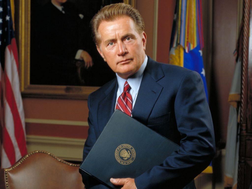El presidente Josiah Bartlett, de El Ala Oeste de la Casa Blanca
